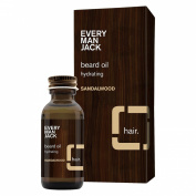 Every Man Jack Sandalwood Beard Oil - 30ml