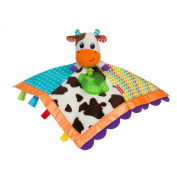 Infantino Topsy Turvy Soft and Snuggly Lovie Pal Cow