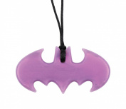 Bumkins Dc Comics Silicone Teething Pendant, Batman Amethyst
