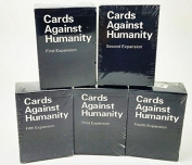 Cards Against Humanity Expansion Packs 1-5