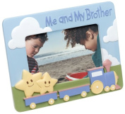 Me and My Brother Ceramic 4x6 Picture Frame