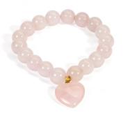 Rose Quartz Baby Bonding Bracelet | Nursing Bracelet for Breastfeeding