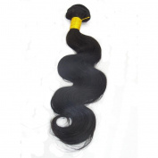 LaNova Beauty Brazilian Body Wave Hair,Size:46cm ,Body Wave,Natural Colour,1pc/lot,100g/pc,Wholesale Human Hair Extensions