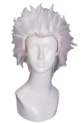 28cm Fate Stay Night Archer Short White Men Costumes Cosplay Wig Zy90