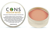 CONS Natural Anti Inflammatory Concealer for Acne or Blemished Skin (Medium Beige) 15ml