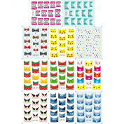 Water Stickers France Style Nail Art Decorations Tools DIY Beauty#2