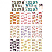 Water Stickers France Style Nail Art Decorations Tools DIY Beauty#7