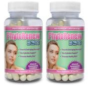PhytoRenew 350 Phytoceramides Skin Rejuvenating Skin Renewal Includes Vitamins A, C, D & E 30 Capsules