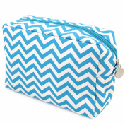 Cathy's Concepts Chevron Spa Bag, Aqua