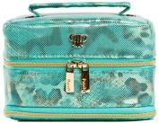 PurseN Jewellery Case - Large Metallic Turquoise
