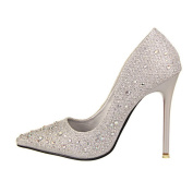 Wotefusi Women's Sexy Pointed High Heels Pumps Shoes 10.5CM