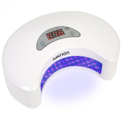 Ivation 20W LED Nail Polish Dryer / Lamp / Light for Curing Gelish & LED Gels, Upgraded with Digital Countdown Timer 30s-90s, SPA Equipment