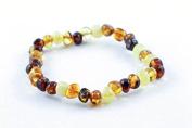 Healing Hazel 100% Balticamber Adult Bracelet, Multi Polished
