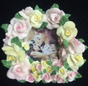 3d Roses Picture Frame 2x2
