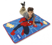 Marvel Spiderman Go Spidey Toddler Blanket With Sound, Red