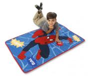 Marvel Spiderman Go Spidey Toddler Blanket With Sound, Red