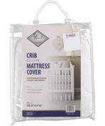 "La Mart ""Baby Quilt"" Crib Mattress Cover - white, one size"