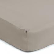 Sealy Therma-Fresh Crib Sheet, Mocha Beige
