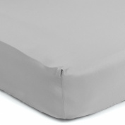 Sealy Therma-Fresh Crib Sheet, Elephant Grey