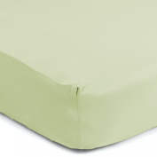 Sealy Therma-Fresh Crib Sheet, Sage Green