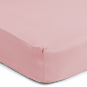 Sealy Therma-Fresh Crib Sheet, Baby Pink