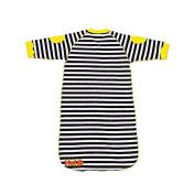 Hej Kid's Sleep Bag, Stripes/Black/ White, 0-6 months