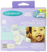 Breastmilk Storage Bags - 100 Count by Lansinoh