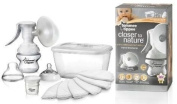 Tommee Tippee Closer to Nature Manual Breast Pump Milk Baby BPA Free Handheld Good Gift for Mom and Baby. Ship Worldwide