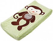 Summer Infant Plush Pals Changing Pad Cover, Green/Brown