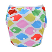 DSB Baby Swim Nappy Pant Washable Reusable One Size Breathable Cover for Girls