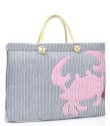 Seer Sucker Crab Tote Bag