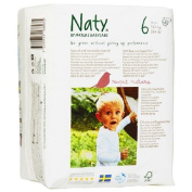 Naty by Nature babycare Eco-Nappies, Size 6, 16kg + 72 ea