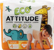 Attitude Eco Nappies Size 4 -- 26 Nappies
