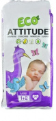 Attitude EcoDiapers Mini Size 1 -- 36 Nappies
