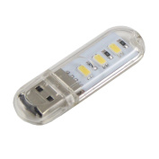 . 3-SMD5730 USB LED Light with USB Extension Cable