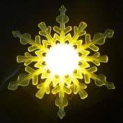 Creative Seven Colours Snowflake Shape Light Projecting Lamp By BoatShop