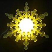 Creative Seven Colours Snowflake Shape Light Projecting Lamp By BoatShop
