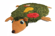 Silk Road Bazaar Hedgehog Rug, Green/Yellow/Brown/Red