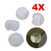 ACE 4 Baby Safety Rubber Corner Protectors for table F1