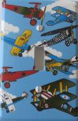 Vintage Aeroplane Light Switch Plate Single Toggle. Aeroplane Wall Decor