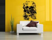 Wall Room Decor Art Vinyl Sticker Mural Decal Skull Snake Tattoo Skeleton AS1873