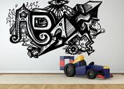 Wall Room Decor Art Vinyl Sticker Mural Decal Adam Graffiti Name Boy Cool Nursery AS1866