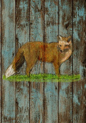 Woodland Collection,9x11.5 Print, Nursery Wall Art Decor, Kid's Art Decor, Gender Neutral Nursery, Nature Themed, , Fox, Woodland Nursery,