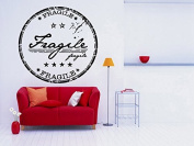 Wall Room Decor Art Vinyl Sticker Mural Decal Fragile Stamp Sign Symbol AS1859