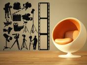 Wall Room Decor Art Vinyl Sticker Mural Decal Movie Set Equipment Video AS1853