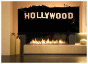 Wall Room Decor Art Vinyl Sticker Mural Decal Hollywood Hills California Sign AS1834