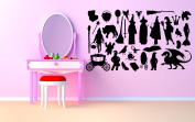 Wall Room Decor Art Vinyl Sticker Mural Decal Fairy Tale Action Figure AS1832