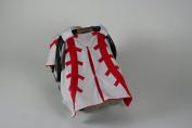 BayB Brand Car Seat Canopy - Baseball