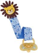 Mud Pie Pacy Clip, Blue Lion