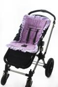 Baby Bee-Haven Cush n' Go Memory Foam Stroller Cushion Liner, Preslee Purple